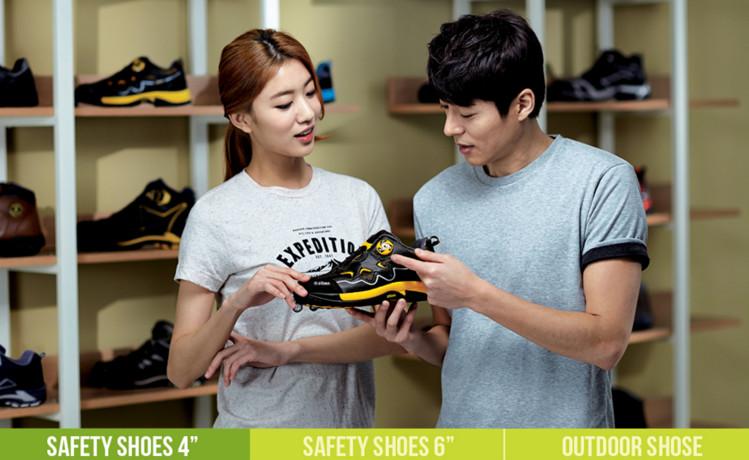 Giày bảo hộ ZIBEN ZB 142 Hàn Quốc siêu nhẹ