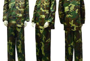 Quần áo mưa hàn quốc bộ rằn ri siêu bền ( Nam & Nữ)