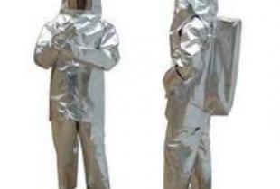 Bộ quần áo chống cháy tráng nhôm 1000 độ C