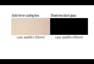 Miếng kính hàn trắng Hàn Quốc OTOS size (50×105)mm