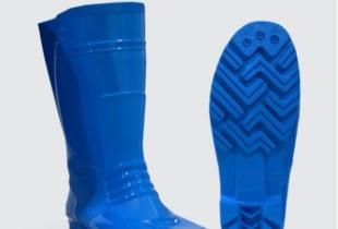 ủng cao su Thùy Dương màu xanh chống dầu – axit