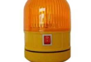 Đèn cảnh báo giao thông (φ8.5*H14.5)cm dùng pin