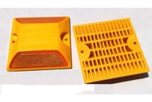 Đinh đường nhựa hai mặt phản quang (20x100x100)mm
