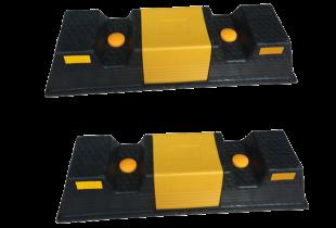 Chặn lùi xe nhựa PP (500x150x100)mm