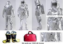 Quần áo chống cháy (QAPCCC) KTFS1000 Hàn Quốc