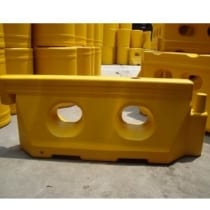 Dải phân cách giao thông 005 nhựa (1650x150x410)mm