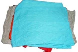 Giẻ lau can màu vải đông xuân cotton khổ (15×25)cm