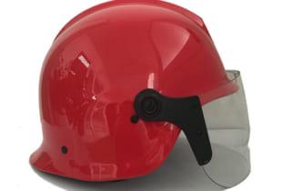 Mũ chống cháy TT48 BCA nhựa ABS màu đỏ