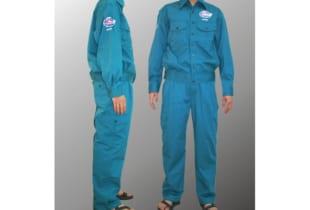 Quần áo bảo hộ kaki màu xanh két Lilama