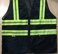 áo gile lưới phản quang 3m