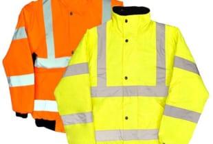 áo bảo hộ mùa đông có phản quang