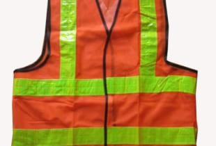 áo lưới phản quang màu cam giá rẻ