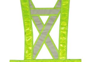 áo dây phản quang chữ a