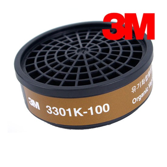 Phin lọc hơi độc hữu cơ 3M-3301-K100 (USA)