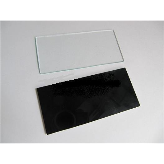 Tấm kính Hàn VN màu đen/trắng KT (50x100x2,5)mm