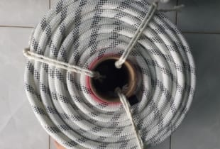 Dây cứu sinh VN Chất liệu Polyester, cáp lụa D14mm
