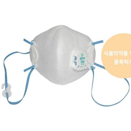 Khẩu trang lọc bụi Hàn Quốc DOBU 500 có van thở