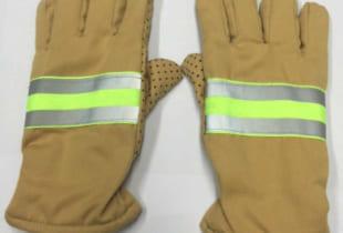 Găng tay chống cháy chịu nhiệt màu vàng cát